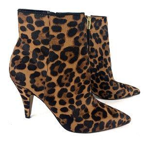 Vince Camuto Leopard Nandi Bootie Sz 9